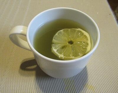 レモン緑茶1