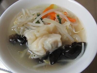 ビオサポワンタン野菜スープ4